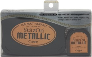 Tinta StazOn Metalic Copper
